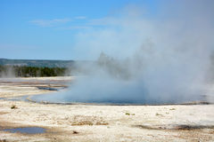 Yellowstone- geyser land Royalty Free Stock Photos