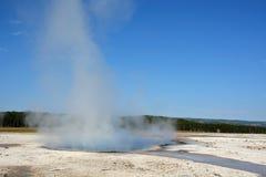 Yellowstone- geyser land Royalty Free Stock Image