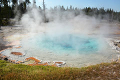 Yellowstone- geyser land Stock Photography