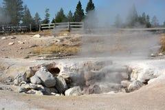 Yellowstone- geyser land Royalty Free Stock Photography