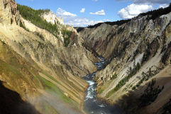 Yellowstone Grand canyon Royalty Free Stock Photos