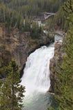 Yellowstone Hogere Dalingen Stock Afbeeldingen