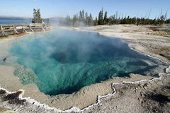 Yellowstone Hot Spring Royalty Free Stock Photo