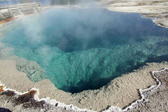 Yellowstone Hot Spring Stock Photos