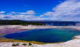Yellowstone Hot Spring Stock Image