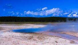 Yellowstone Hot Spring Stock Photos