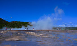 Yellowstone Hot Spring Royalty Free Stock Images