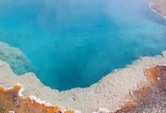 Yellowstone Hydrothermal Hot Water Springs stock image