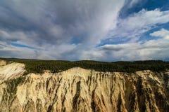 Yellowstone kanjon Royaltyfri Bild