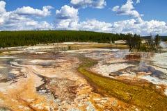 Yellowstone - la paleta de colores de dios Foto de archivo libre de regalías