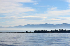 Yellowstone lake Royalty Free Stock Image