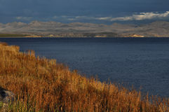Yellowstone Lake Evening Royalty Free Stock Photo