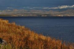 Yellowstone Lake Evening Royalty Free Stock Photo