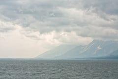 Yellowstone Lake Landscape Royalty Free Stock Photos