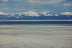 Yellowstone lake Stock Photography