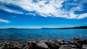 Yellowstone lake Royaltyfri Foto