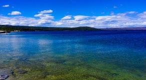 Yellowstone Lake of Yellowstone Park Royalty Free Stock Image