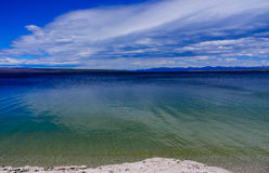 Yellowstone Lake of Yellowstone Park Royalty Free Stock Photos