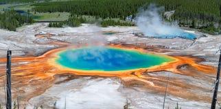 Yellowstone Nationaal Park stock foto's