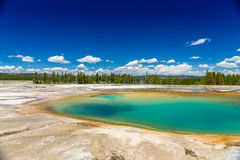 Yellowstone Nationaal Park Stock Foto