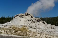 Yellowstone Nationaal Park Royalty-vrije Stock Afbeelding