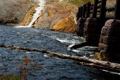 Yellowstone nationaal Park 2 stock fotografie