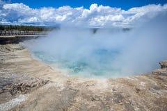 Yellowstone Nationaal Park, Utah, de V.S. Royalty-vrije Stock Afbeelding