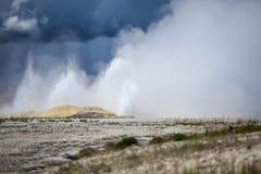 Yellowstone Nationaal Park, Utah, de V.S. Stock Foto's