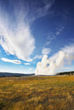 The  Yellowstone national park Stock Photos