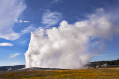 The Yellowstone national park stock photography