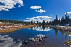 Yellowstone National Park: Beartooth Pass. (Small Lake Royalty Free Stock Photos