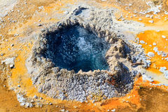 Yellowstone National Park, Chinese Spring in Upper Geyser Basin Royalty Free Stock Photo