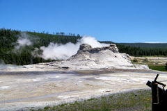Yellowstone National Park Geysers 23 Royalty Free Stock Photography