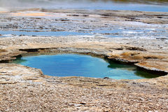 Yellowstone National Park Hot Springs Stock Image