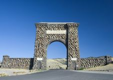 Yellowstone National Park ; North Entrance Royalty Free Stock Images