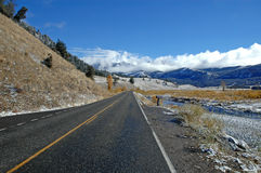 Yellowstone National Park, Rocky Mountains, USA Stock Photography