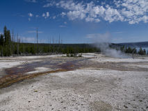 Yellowstone National Park in the USA Stock Images