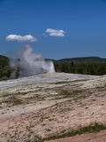 Yellowstone National Park in the USA Stock Image