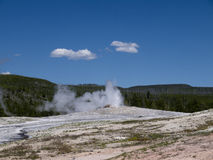 Yellowstone National Park in the USA Royalty Free Stock Photo