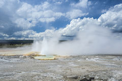Yellowstone National Park, Utah, USA Stock Images
