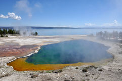 Yellowstone National Park, Wyoming Stock Photos