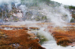 Yellowstone National Park, Wyoming, United States Stock Photos