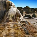 Yellowstone National Park, Wyoming, United States. Geysers and hot springs in Yellowstone National Park, Wyoming. United States stock photos