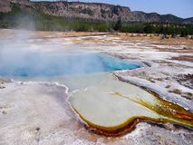 Yellowstone nationalpark Royaltyfria Foton