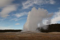 Yellowstone Nationalpark Lizenzfreie Stockfotos
