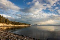 Yellowstone Nationalpark Stockfotos