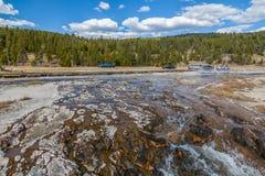 Yellowstone Nationalpark Stockbild