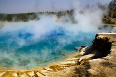 Yellowstone Nationalpark 3 stockbilder