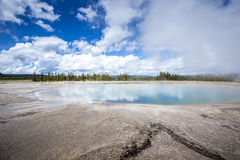 Yellowstone nationalpark, Utah, USA Royaltyfria Foton