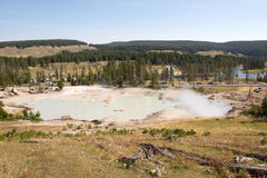 Yellowstone Nationalpark, Utah, USA Lizenzfreie Stockbilder
